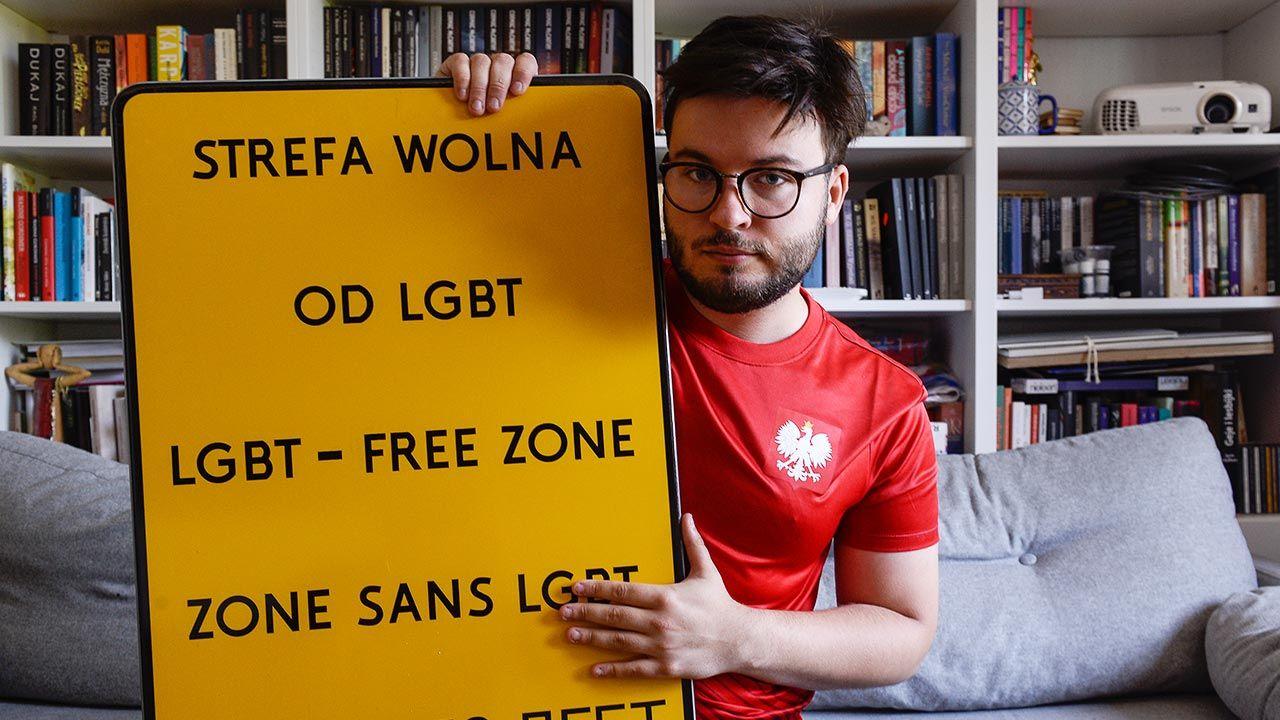 """""""Zdaniem pozwanego »strefa wolna od LGBT« i »strefa wolna od ideologii LGBT« znaczą dokładnie to samo"""" (fot. Omar Marques/Getty Images)"""
