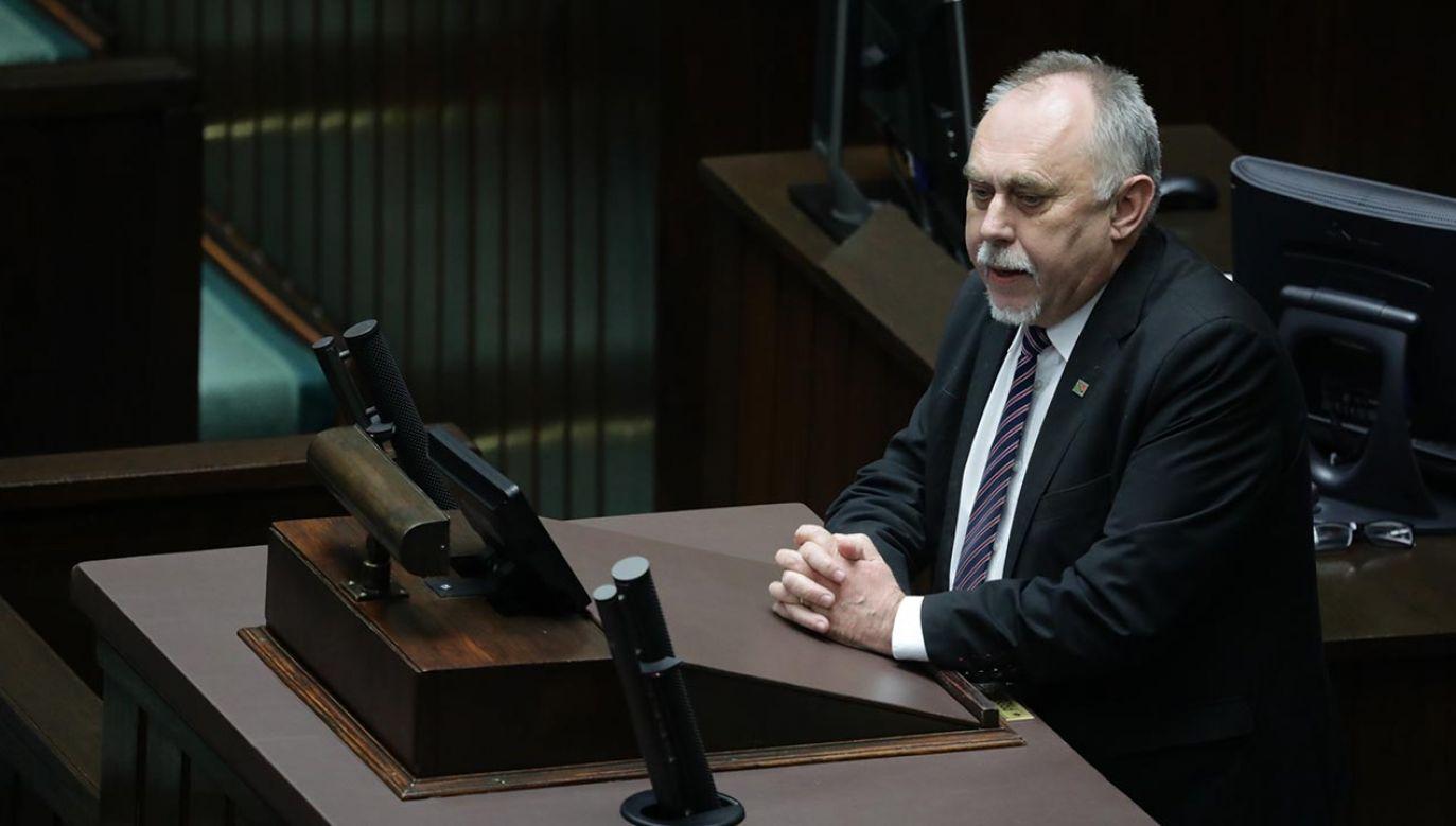 Koledzy byłego posła apelują o modlitwę (fot. PAP/Tomasz Gzell)