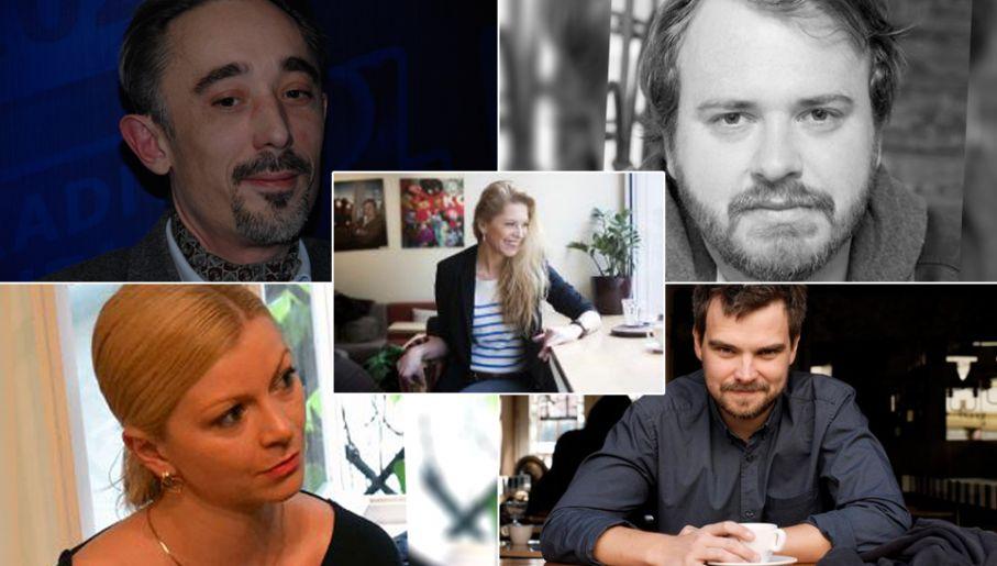 Marcin Wroński, Wojciech Chmielarz, Katarzyna Bonda, Gaja Grzegorzewska, Zygmunt Miłoszewski