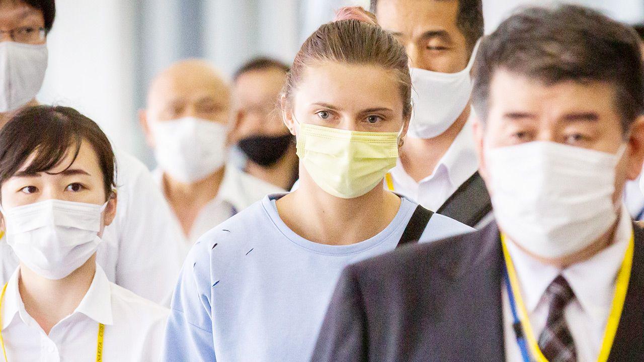 Japońska policja potwierdziła, że biegaczka pojechała samochodem polskiej służby dyplomatycznej na lotnisko (fot. Yuichi Yamazaki/Getty Images)