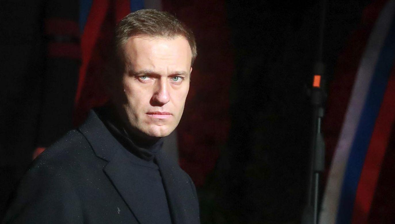 Nawalny jest w fatalnym stanie (fot. Sergei Fadeichev\TASS via Getty Images)