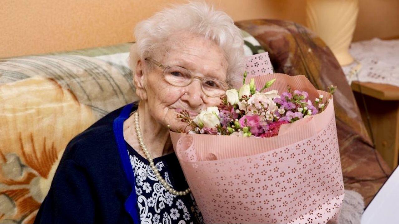 Tekla Juniewicz skończyła 115 lat (fot. D.Nita-Garbiec/UM Gliwice)