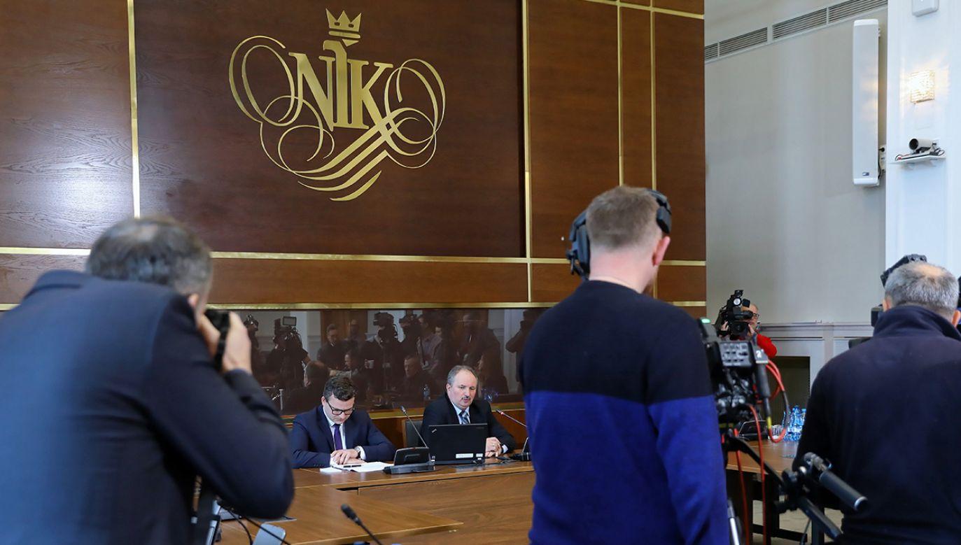 Patryk Jaki skomentował raport NIK (fot. PAP/Rafał Guz)