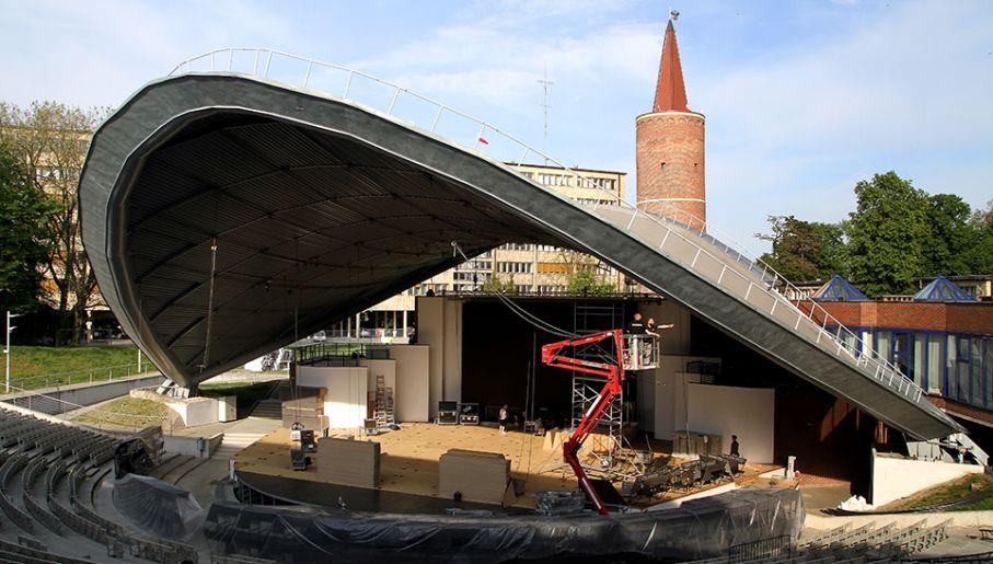 Amfiteatr w Opolu (fot. PAP/Krzysztof Świderski)
