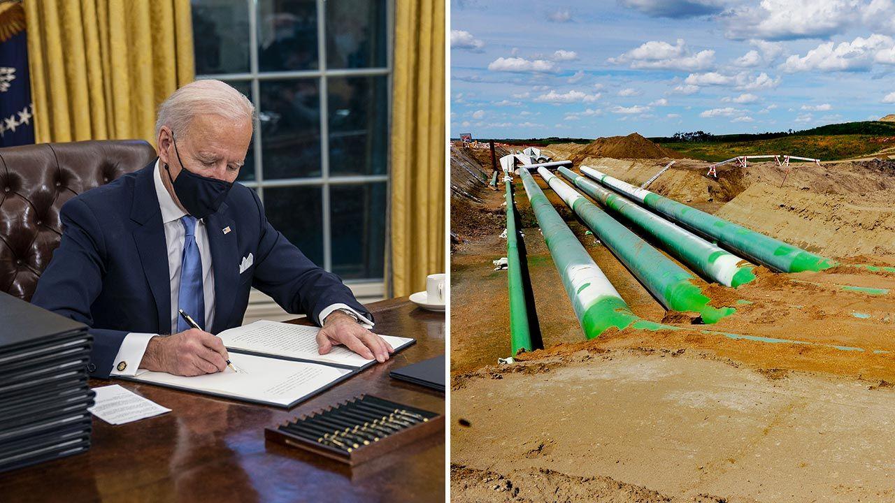 Biden i Trudeau rozmawiali przez telefon (fot.  Doug Mills/The New York Times/Bloomberg via Getty Images;Michael S. Williamson/The Washington Post via Getty Images)