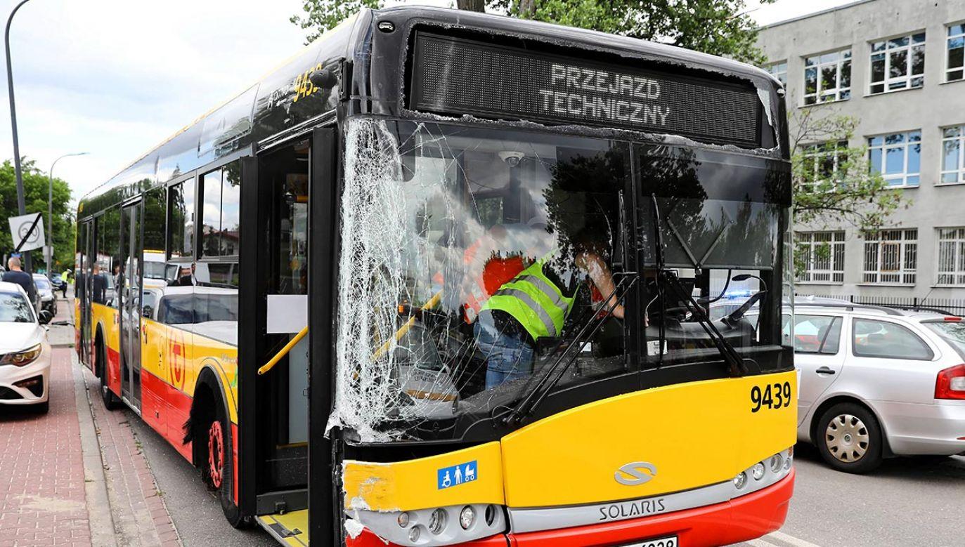 To kolejny przypadek kierowcy, który prowadził po narkotykach (fot. PAP/Rafał Guz)