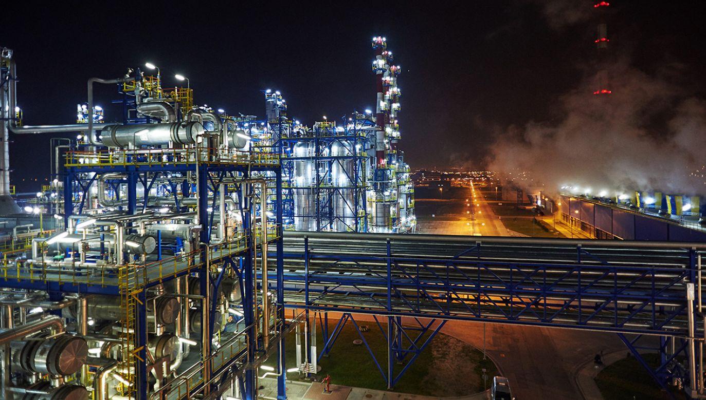 Instalacje rafinerii Grupy Lotos SA w Gdańsku (fot. arch. PAP/Adam Warżawa)