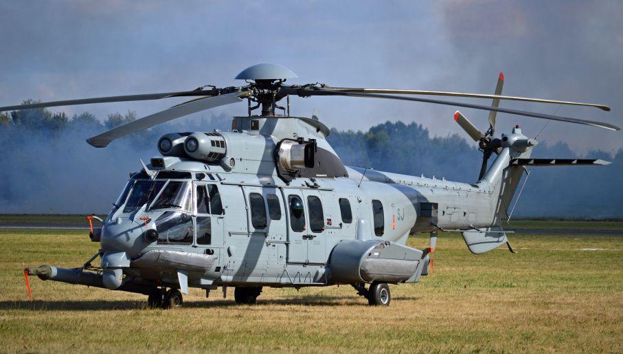 EC725 Caracal zaoferowany przez Airbus Helicopters (fot. flickr.com/Hawkeye UK)