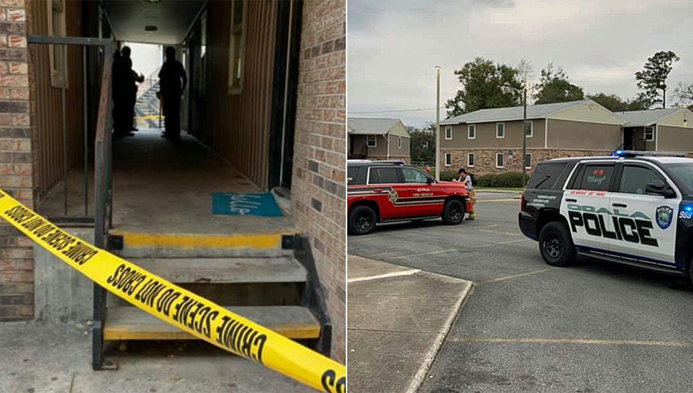Próbę zabójstwa udaremniła matka dzieci (fot. Ocala Police Department)