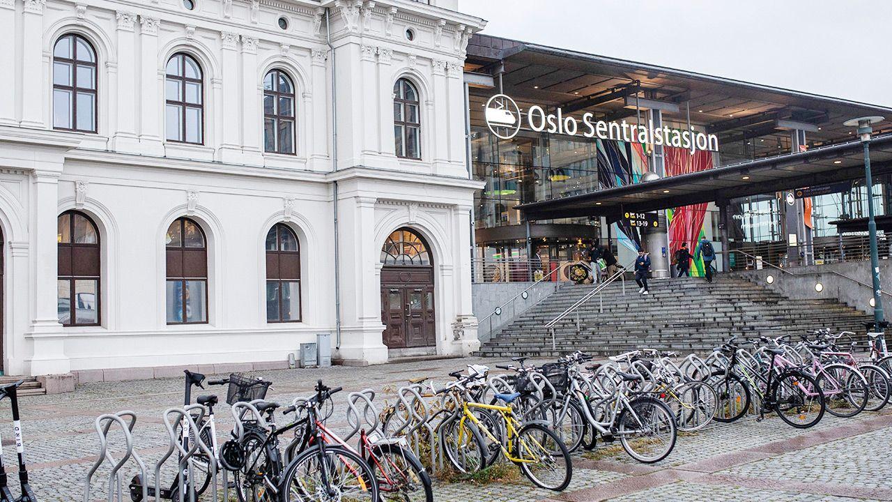 Władze Oslo ogłosiły zamknięcie sklepów oraz galerii handlowych (fot. Odin Jaeger/Bloomberg via Getty Images)