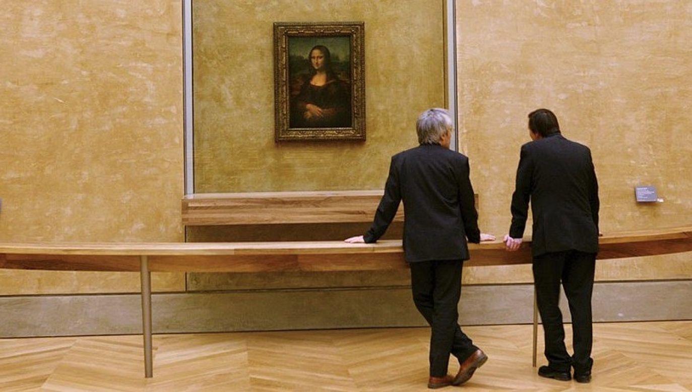 Francuska policja aresztowała w tym tygodniu pięciu znawców sztuki w ramach śledztwa dotyczącego grabieży dzieł sztuki (fot. Raphael GAILLARDE/Gamma-Rapho via Getty Images)