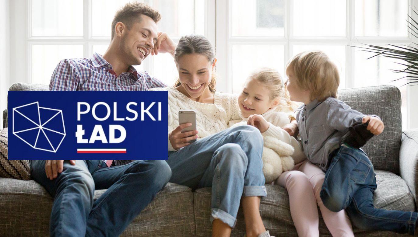 Co zyskają rodziny na Polskim Ładzie? (fot. Shutterstock)