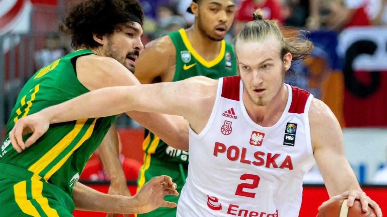 Reprezentacja Polski koszykarzy przegrała drugi mecz kontrolny z Brazylią (sport.tvp.pl)