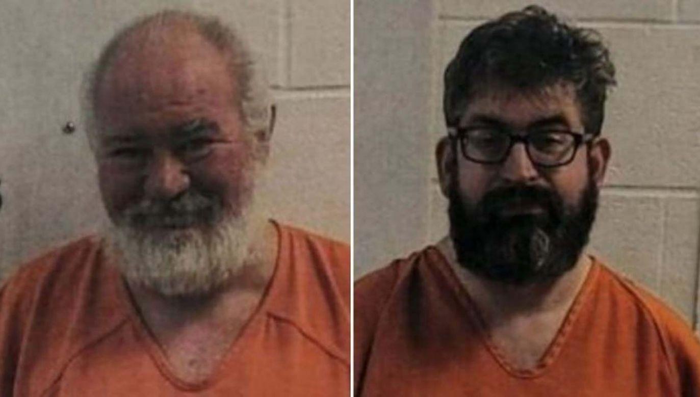 53-letni Bob Lee Allen i 42-letni Thomas Gates zostali aresztowani (fot. Le Flore County Sheriff's Office)