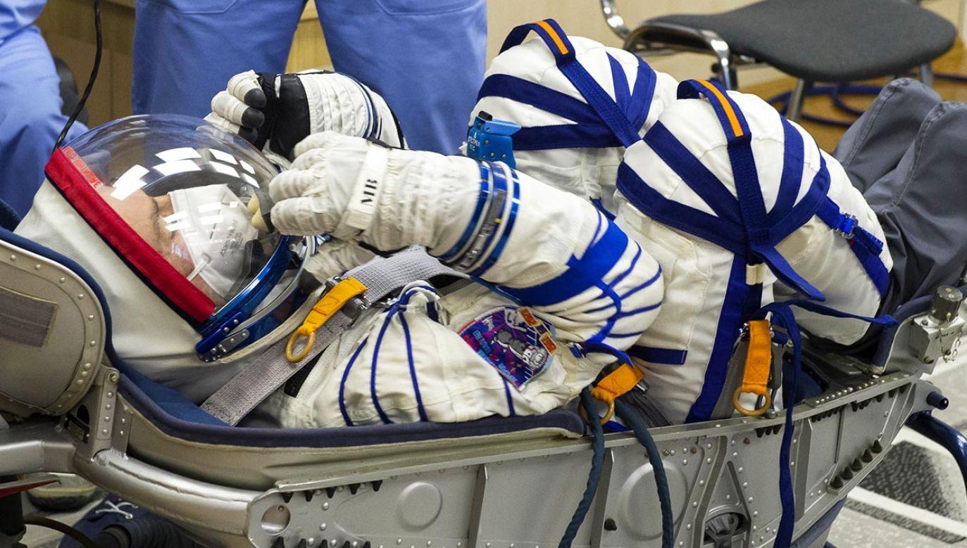 27-latka jest specjalistką w dziedzinie inżynierii mechanicznej (fot. Roscosmos Press Office\TASS via Getty Images)
