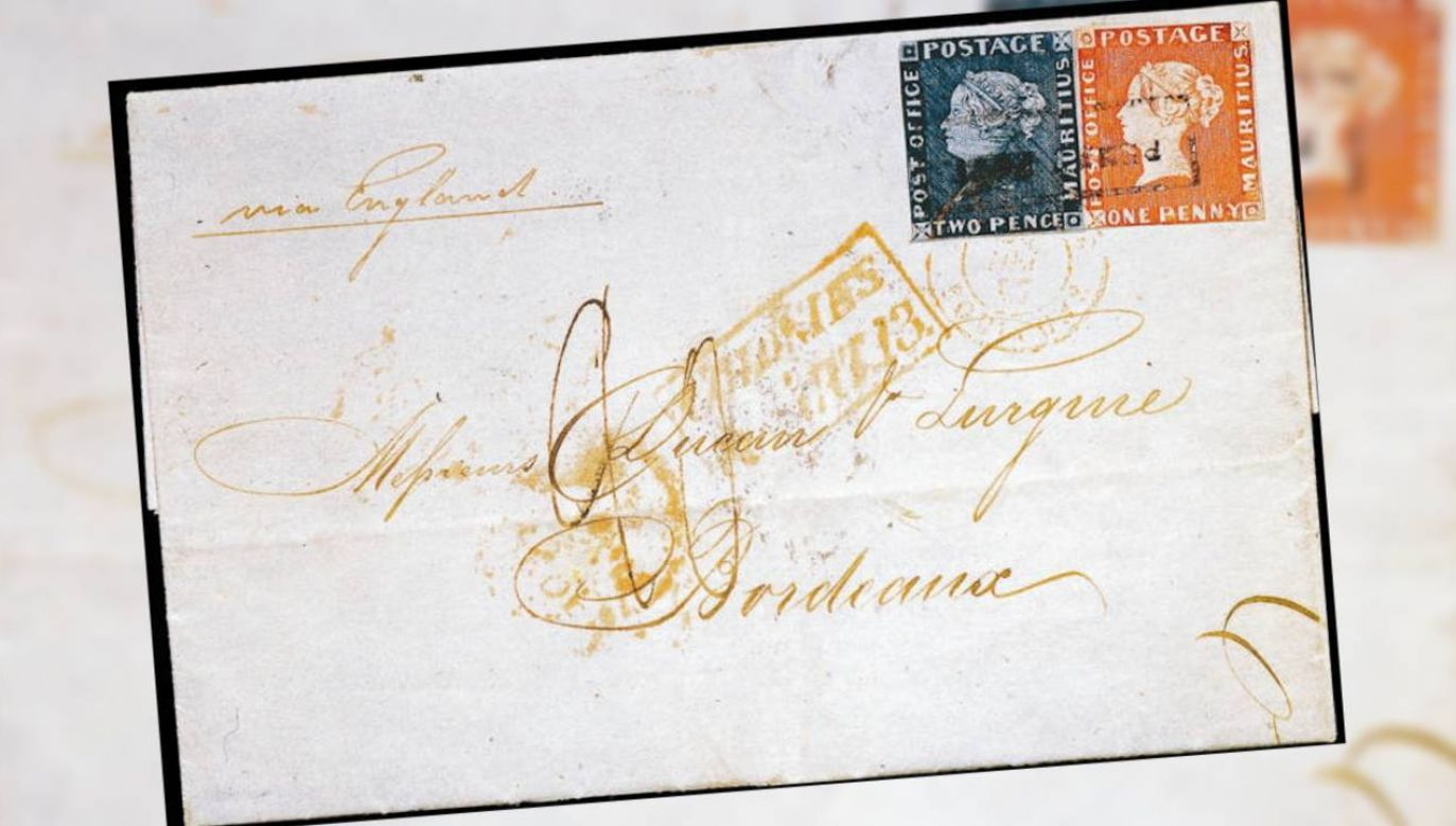 """Z trzech egzemplarzy """"Czerwonego Mauritiusa"""" tylko jeden można sprzedać (fot. Wiki/PD Art/Fconaway)"""