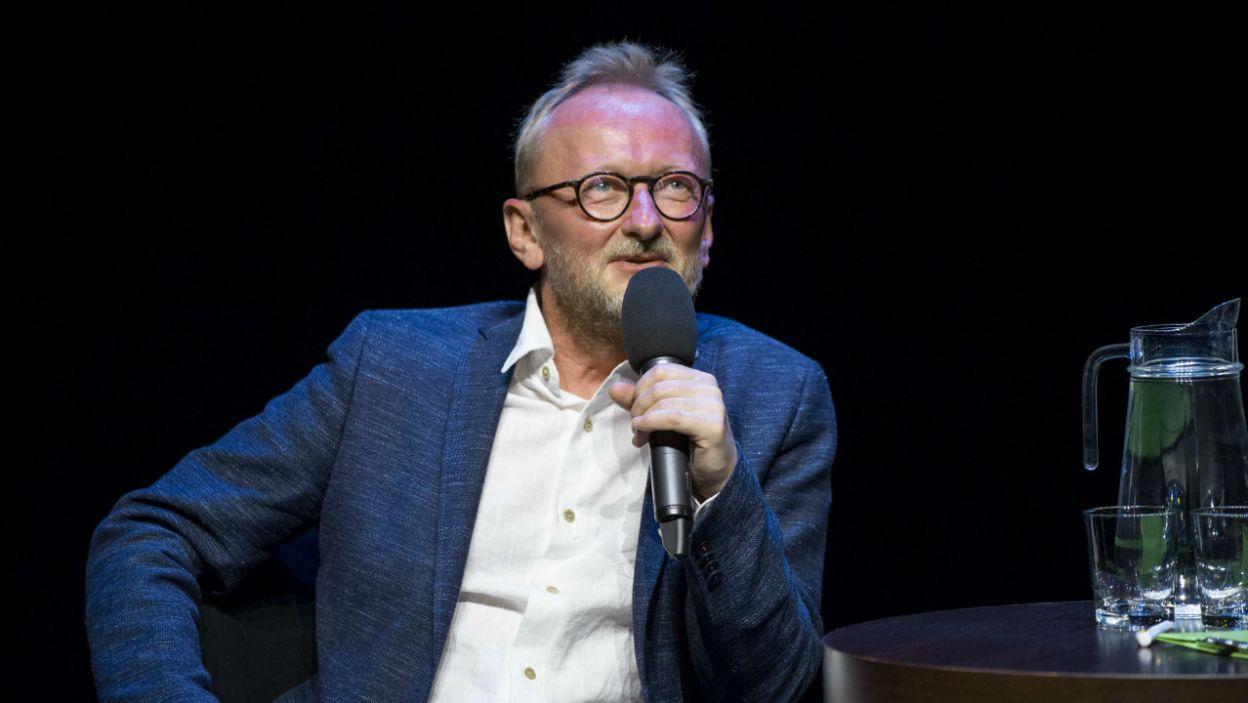 """Mastalerz podkreśla, że Festiwal """"Dwa Teatry"""" to wydarzenie, które daje publiczności dużo radości  (fot. N. Młudzik/TVP)"""