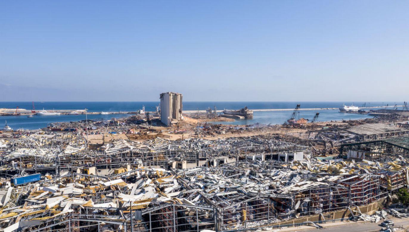 Nie wszystko jest jeszcze jasne w sprawie bejruckiej eksplozji (fot.Haytham Al Achkar/Getty Images)