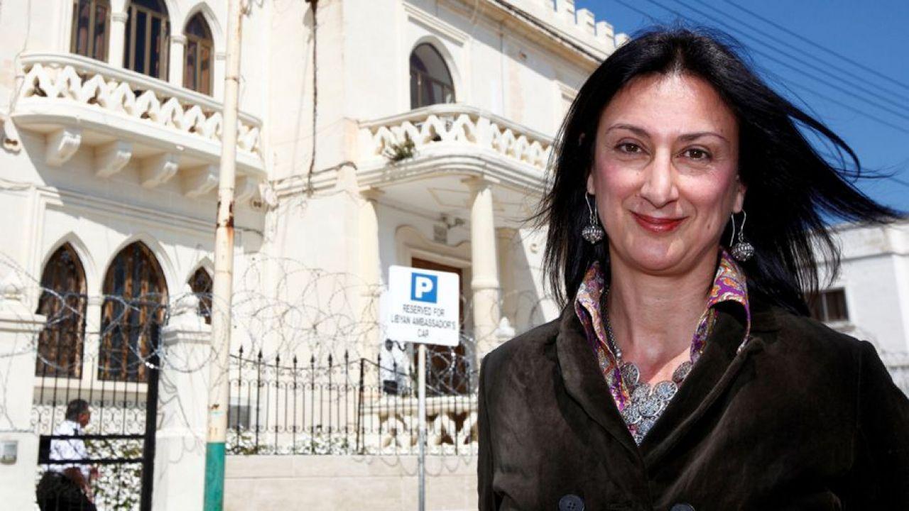 Daphne Caruana Galizia zginęła 16 października w zamachu bombowym (fot. REUTERS/Darrin Zammit Lupi)