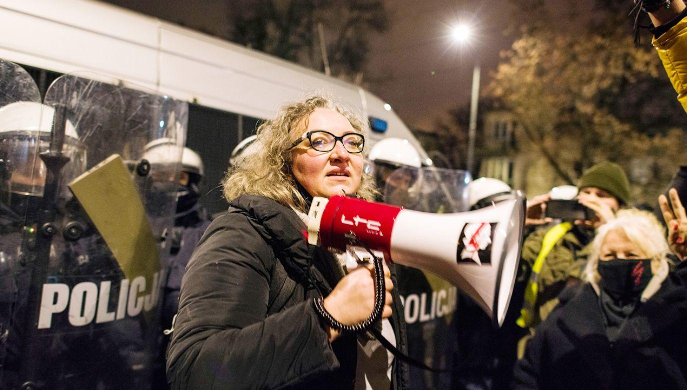 Liderka Ogólnopolskiego Strajku Kobiet Marta Lempart (fot. Getty Images)