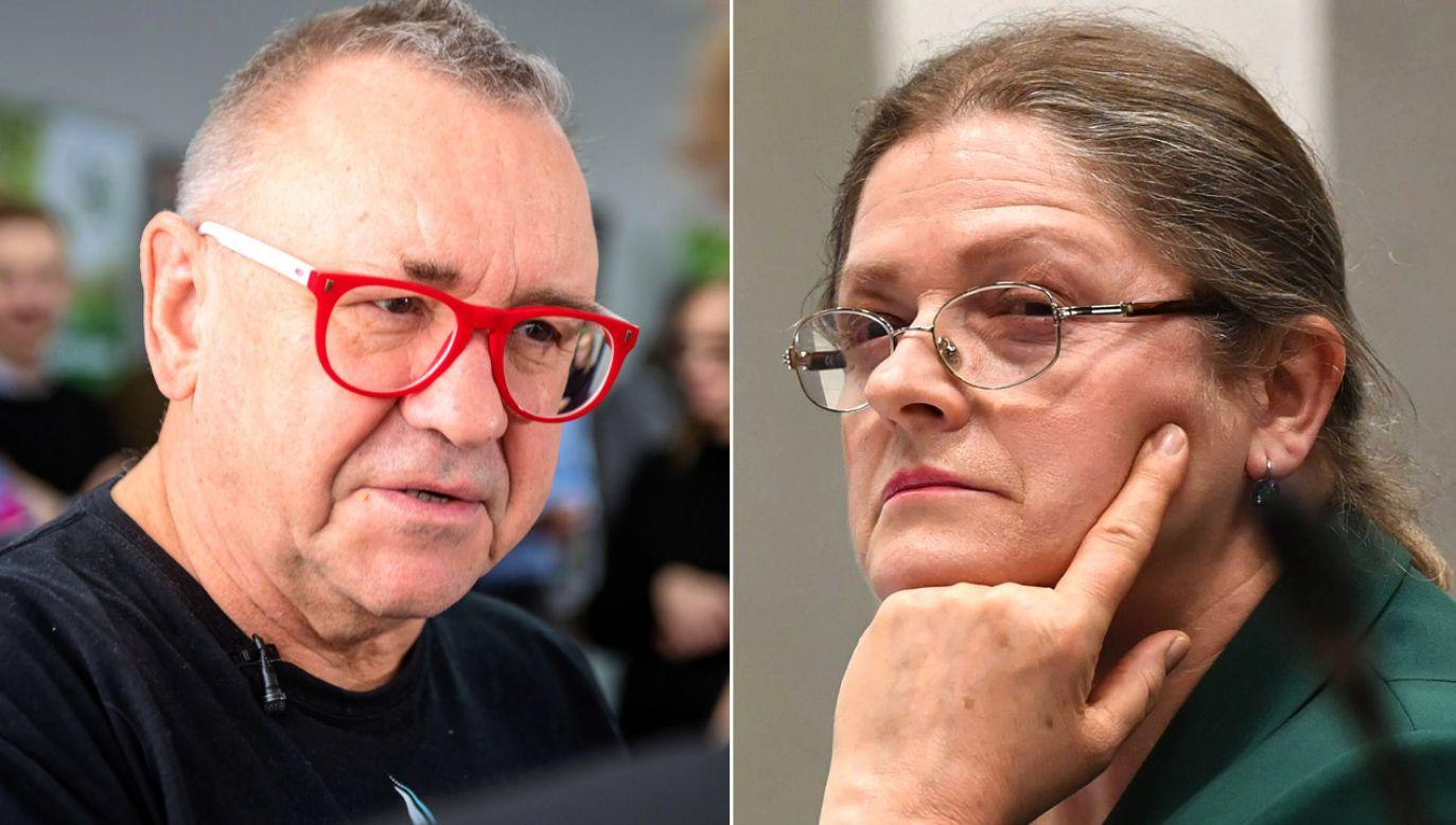 Finał sporu szefa WOŚP i byłej posłanki (fot. arch.PAP/Grzegorz Michałowski, PAP/Radek Pietruszka)