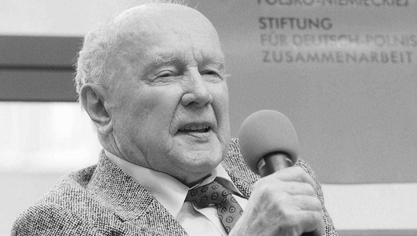 Kazimierz Albin miał 96 lat (fot. arch.PAP/Grzegorz Jakubowski)