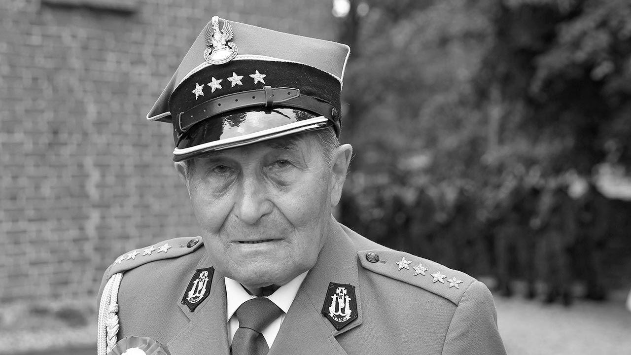 "Zmarł Józef Rusak ps. ""Bylina"" (fot. PAP/Tomasz Waszczuk)"