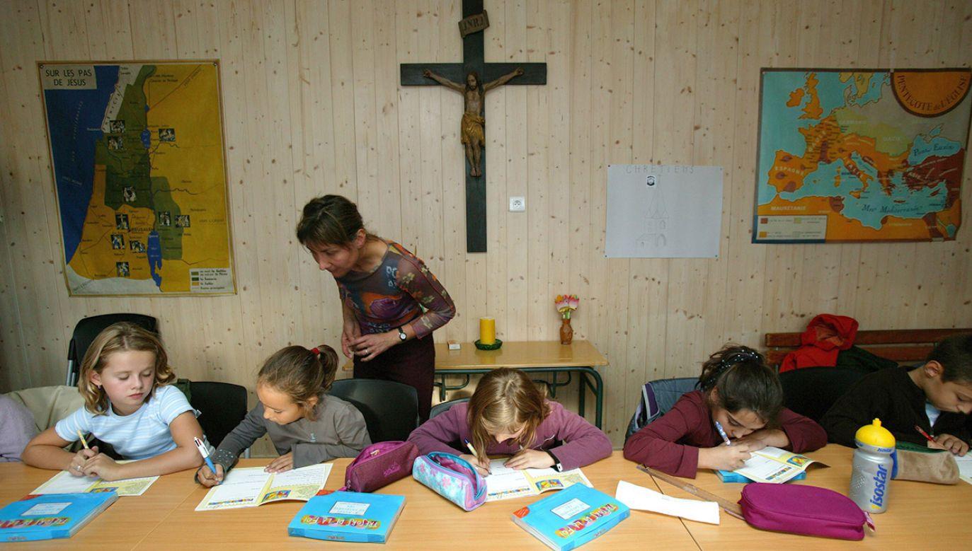 Wydaje mi się, że za chwilę to znowu wróci do parafii – mówiła Małgorzata Kidawa-Błońska (fot. arch.PAP/DPA)