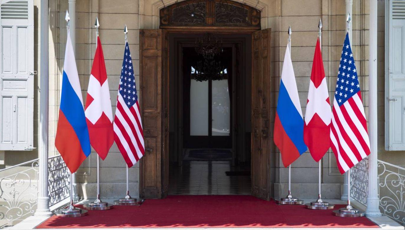 Po spotkaniu nie odbędzie się wspólna konferencja prasowa prezydentów (fot. EPA/PETER KLAUNZER)