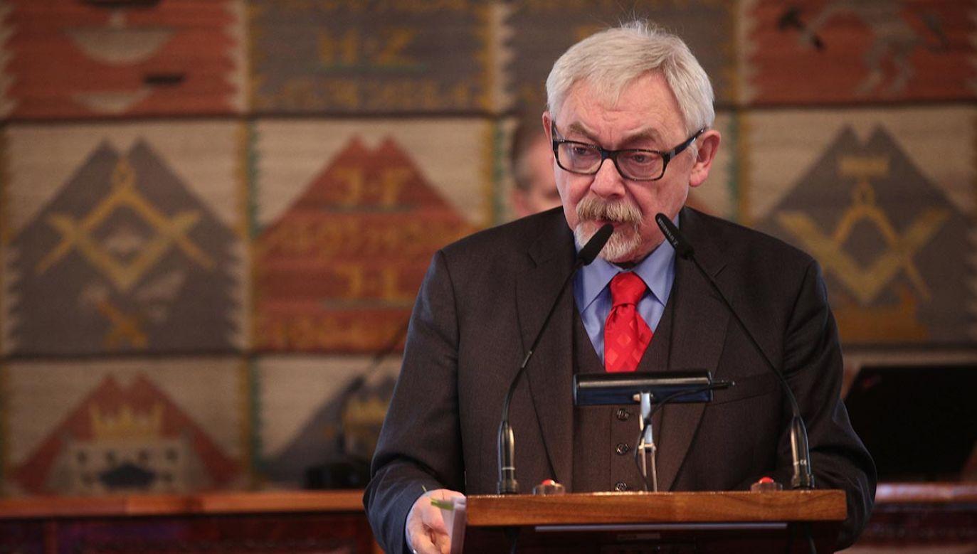 Nowe informacje o stanie polityka (fot. PAP/Łukasz Gągulski)