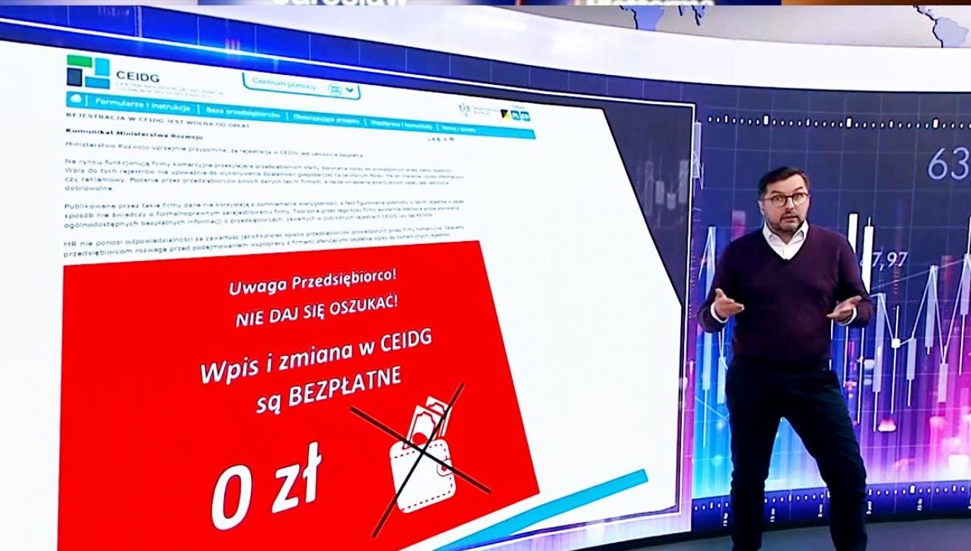 Na jakie dokumenty należy zwrocić uwagę? (fot. TVP Info)