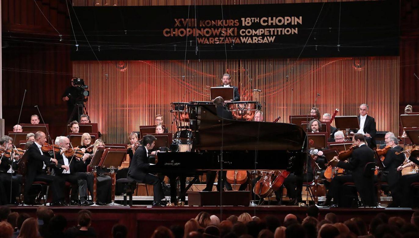 Widzów do TVP Kultura przyciągnęła transmisja finałowych koncertów Konkursu Chopinowskiego(fot. PAP/Wojciech Olkuśnik)