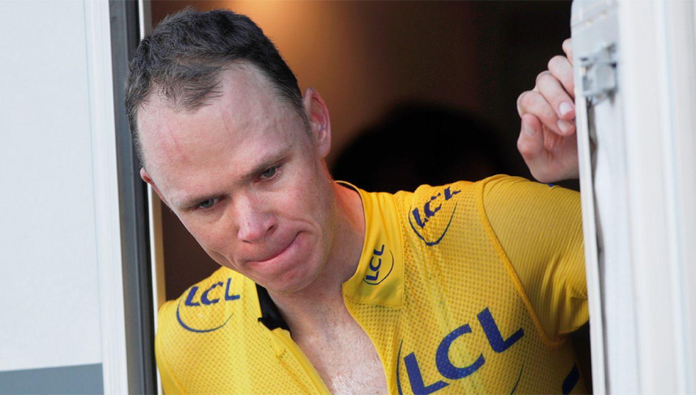 Chris Froome jest czterokrotnym zwycięzcą Tour de France (fot. PAP/EPA/YOAN VALAT)