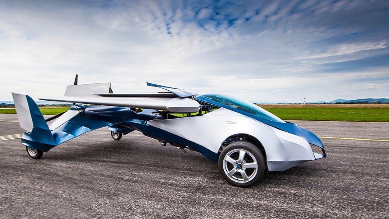 Słowacy pracują nad latającym autem od 4 lat, udoskonalając kolejne wersje (fot. Materiały prasowe)