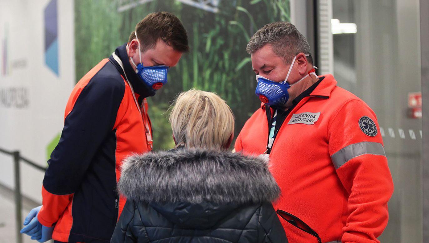 Jak dotąd nie stwierdzono w Polsce przypadku zakażenia koronawirusem (fot. PAP/Łukasz Gągulski)