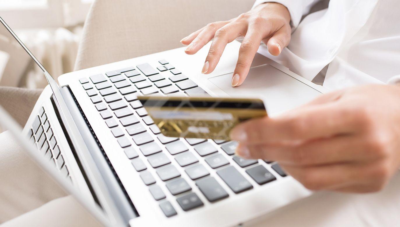 W 2020 r. Polacy zwiększyli wydatki na ubrania przez internet o ponad 1,1 mln dol. (fot. Shutterstock/LDprod)