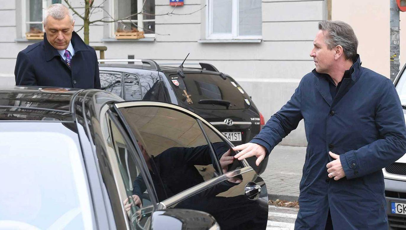 """Austriacki biznesmen """"nie przedstawił żadnych dokumentów""""  (fot. arch. PAP/Radek Pietruszka)"""