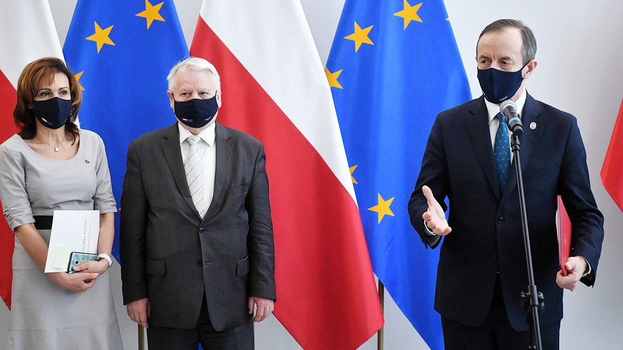 Celowe działanie polityków Platformy to nie tylko gra przeciwko Zjednoczonej Prawicy (fot. PAP/Radek Pietruszka)