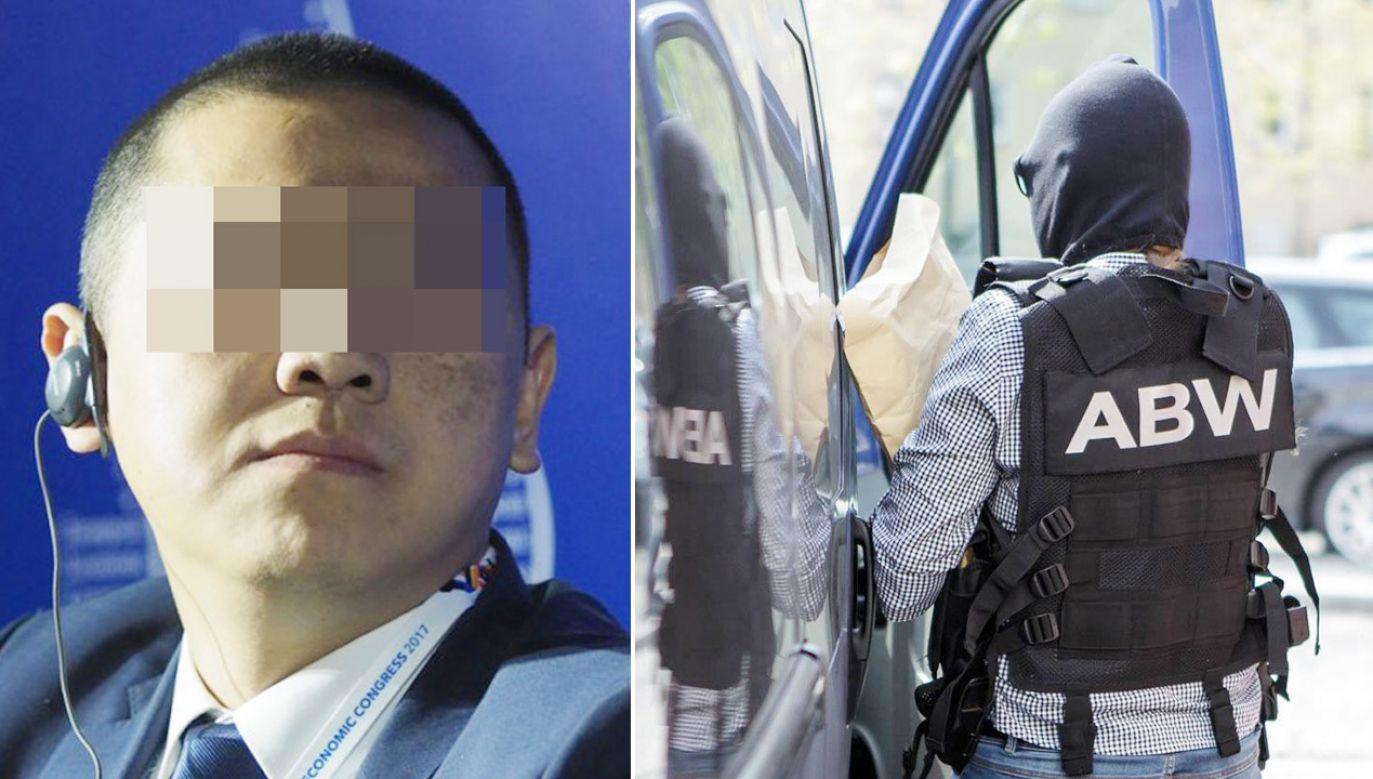 Weijing W. trafił do aresztu (fot. PAP/Wojtek Kamiński )