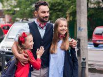 Mimo wszystko obiecuje córce, że do czasów jej studiów nie wyjedzie z Polski. Tylko gdzie będzie mieszkał? (fot. A. Rybak)
