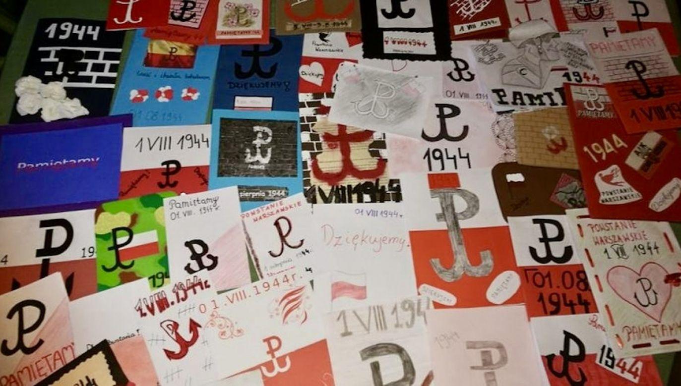 Do tej pory wysłaliśmy ponad milion pocztówek do bohaterów walk o stolicę (fot. Materiały prasowe)