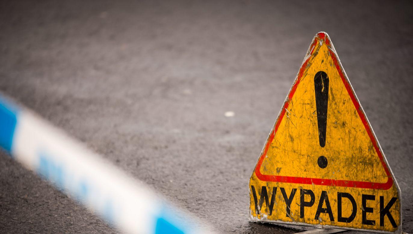 Policja ustala przyczyny wypadku (fot. policja.pl)