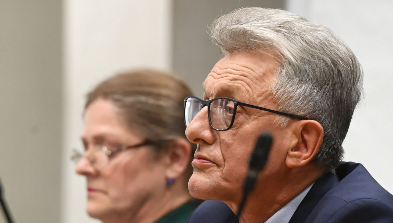 Krystyna Pawłowicz i Stanisław Piotrowicz zostali sędziami Trybunału Konstytucyjnego (fot. PAP/Radek Pietruszka)