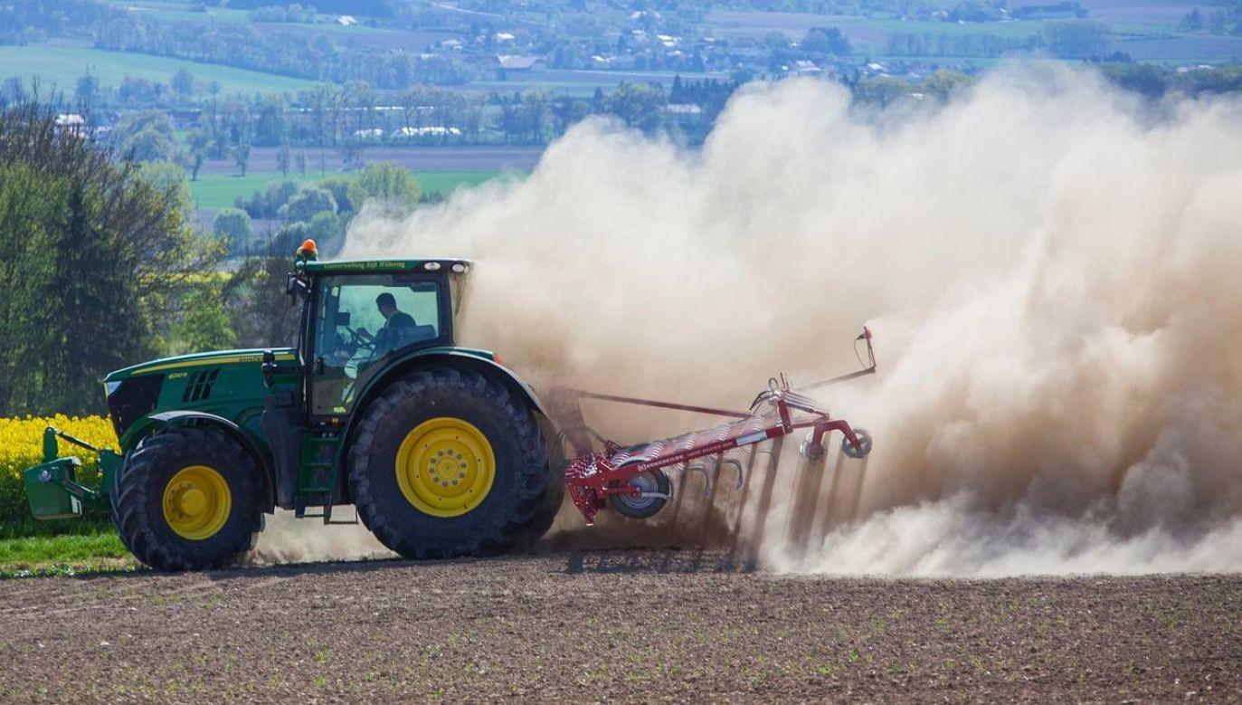 Wzrost emisji CO2 zagraża rolnictwu (fot. Pixabay)