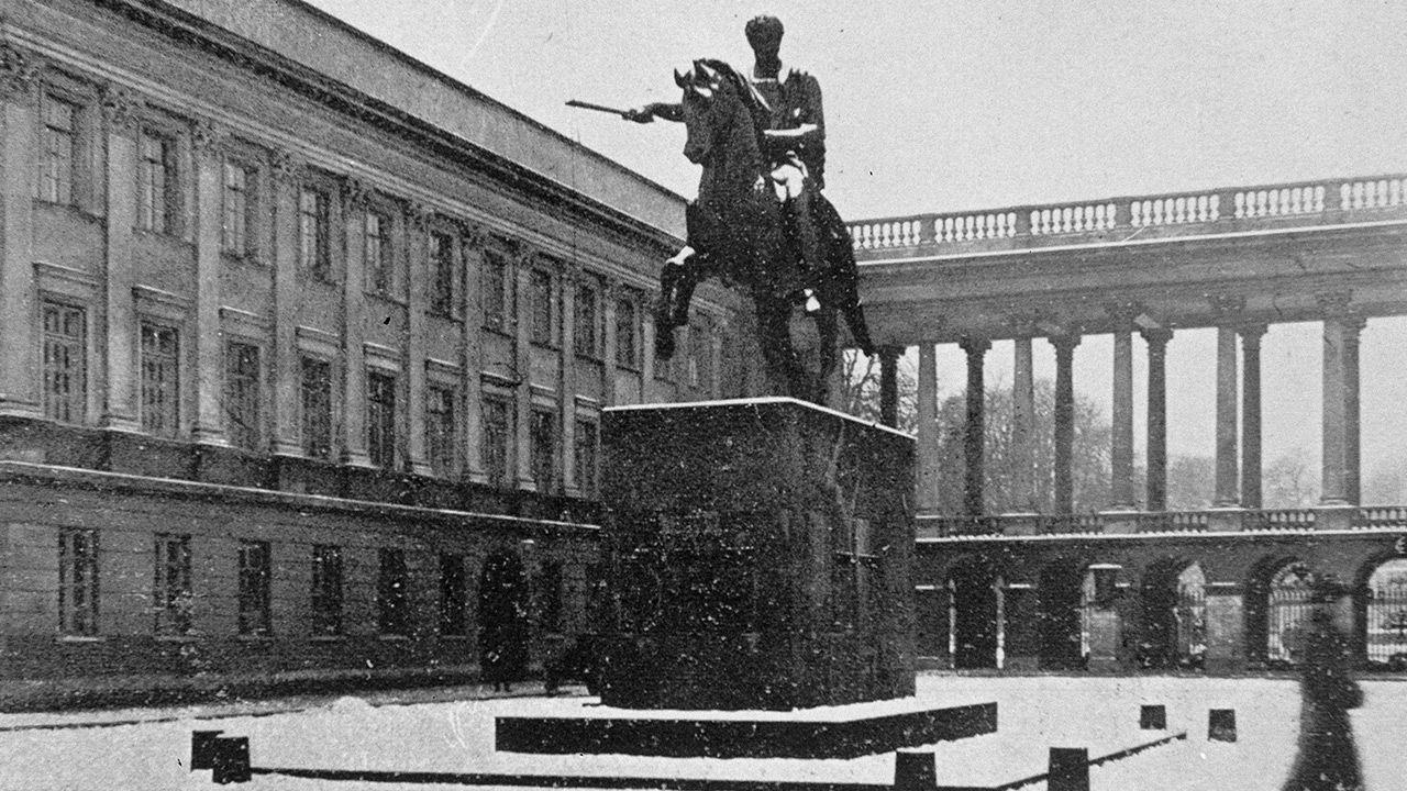 Pałac Saski był wielokrotnie przebudowywany w kolejnych wiekach (fot. arch.PAP)