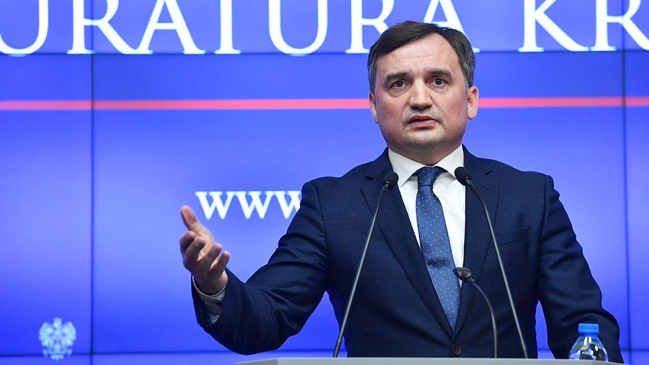 Minister sprawiedliwości Zbigniew Ziobro (fot. PAP/Piotr Nowak)