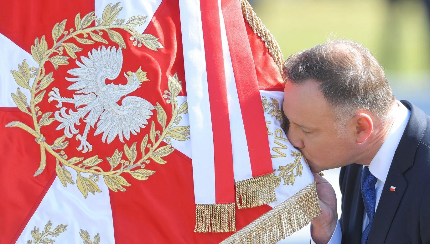 Uroczystość zaprzysiężenie w Sejmie prezydenta Andrzeja Dudy na II kadencję (fot. PAP/Radek Pietruszka)