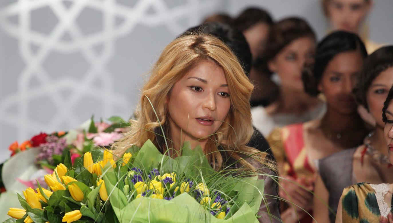 Gulnara Karimowa była m.in. śpiewaczką i projektantką mody (fot. arch.PAP/SERGEI ILNITSKY)