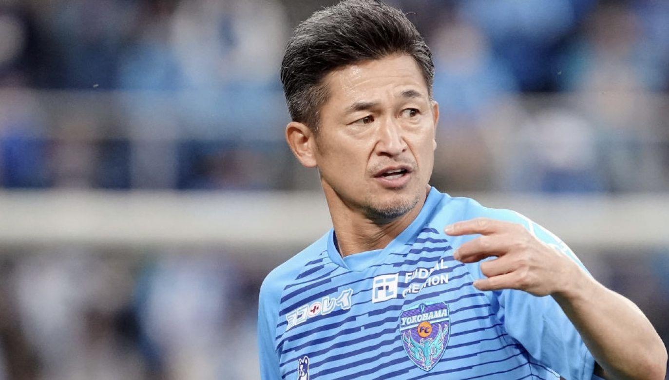 Dla Kazuyoshiego Miury będzie to 17. sezon w barwach Yokohama FC (fot. Koji Watanabe/Getty Images)