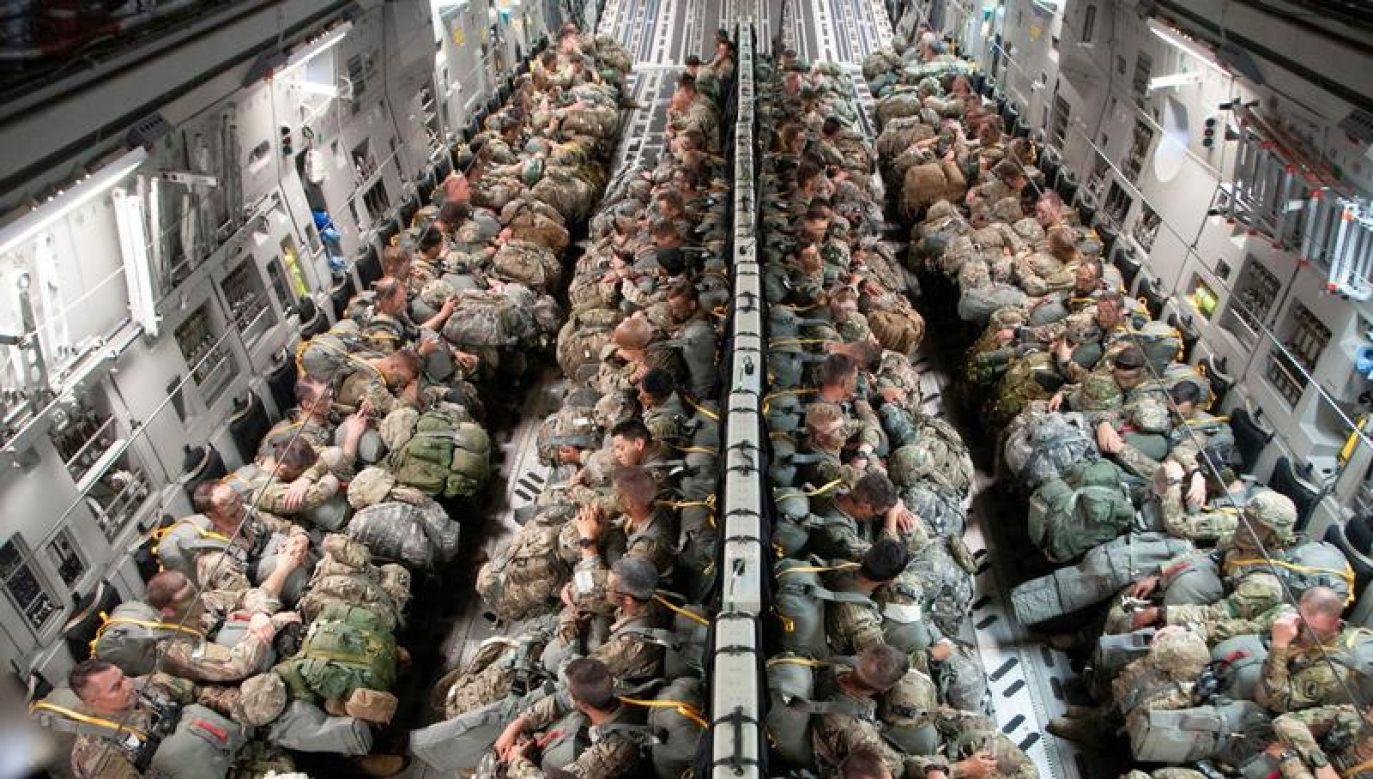 Przerzuceni na Stary Kontynent Amerykanie wezmą udział w ćwiczeniach poligonowych m.in. w Polsce i krajach bałtyckich (fot. Reuters)